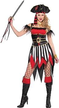 Christy`s - Disfraz de naufrago para mujer, talla L (996962): Amazon ...