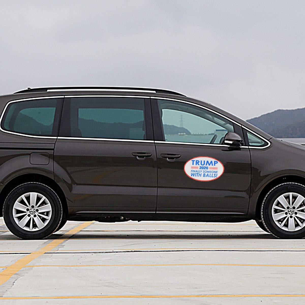 LIOOBO Car Styling Trump 2020 Series Autocollants Corps De Voiture Bumper Decal Decal Stickers D/écalque de Vinyle De Voiture Accessoires CT0025 Ellipse