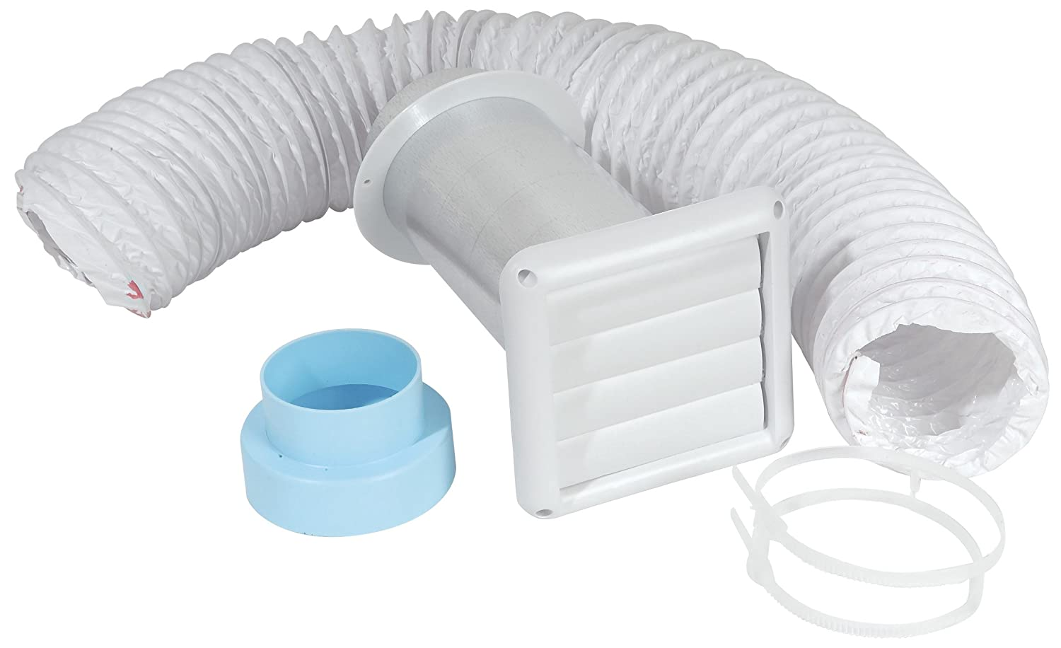"Imperial 3"" / 4"" Bath Fan Wall Vent Kit, VT0155"