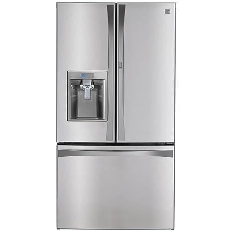 Gentil French Door Bottom Freezer Refrigerator With Grab