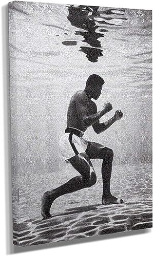 Muhammad Ali Under Water