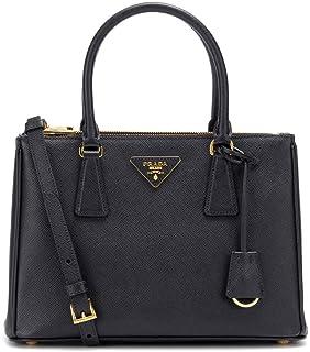 PRADA Bags Cross Body Shoulder Tote Handbags Black Saffiano Leather 100%  authentic ba3e255cb85fa