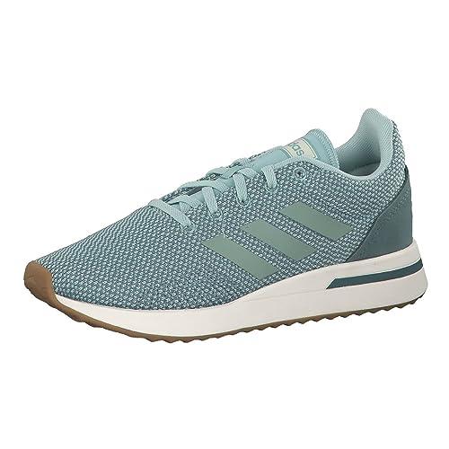 separation shoes 75935 3bd6b adidas Run 70s Scarpe Running Donna, Verde AshgrnRawgrn, 37 13
