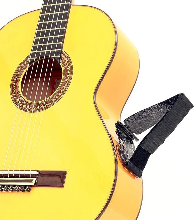 Tenor TPGS+ Soporte ergonómico profesional para guitarra, levantador de guitarra, soporte para guitarra Posa para reproductores clásicos, flamencos, ...