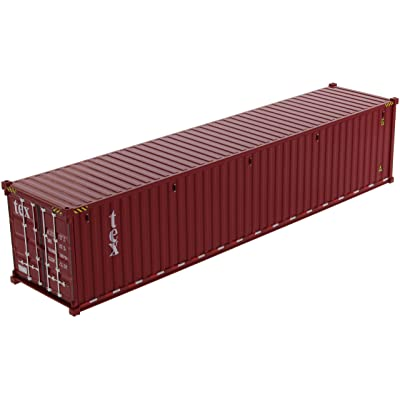 40\' Dry Goods Sea Container TEX Burgundy Transport Series 1/50 Model by Diecast Masters 91027 A: Toys & Games [5Bkhe1512405]