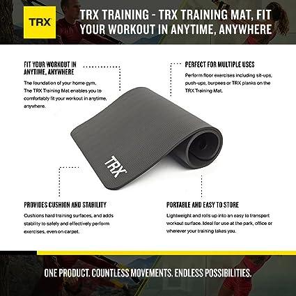 Entrenamiento TRX - Con la alfombrilla de entrenamiento TRX estarás listo/a para tu entrenamiento dónde sea y cuándo sea