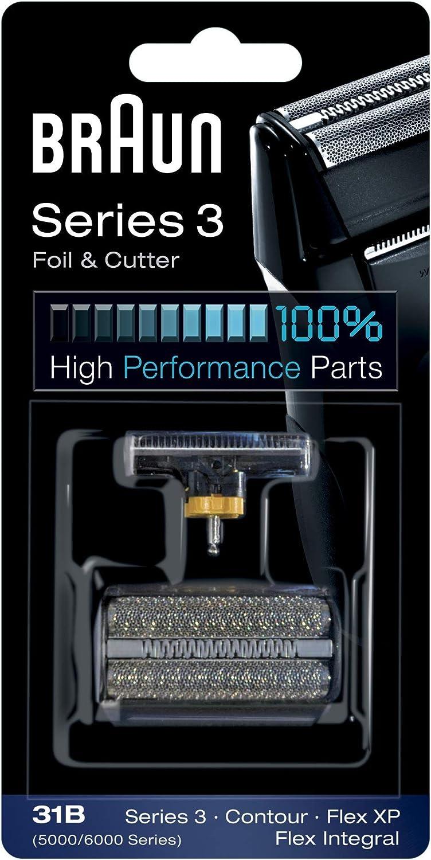 Braun 31B - Recambio para afeitadora eléctrica hombre para Series ...