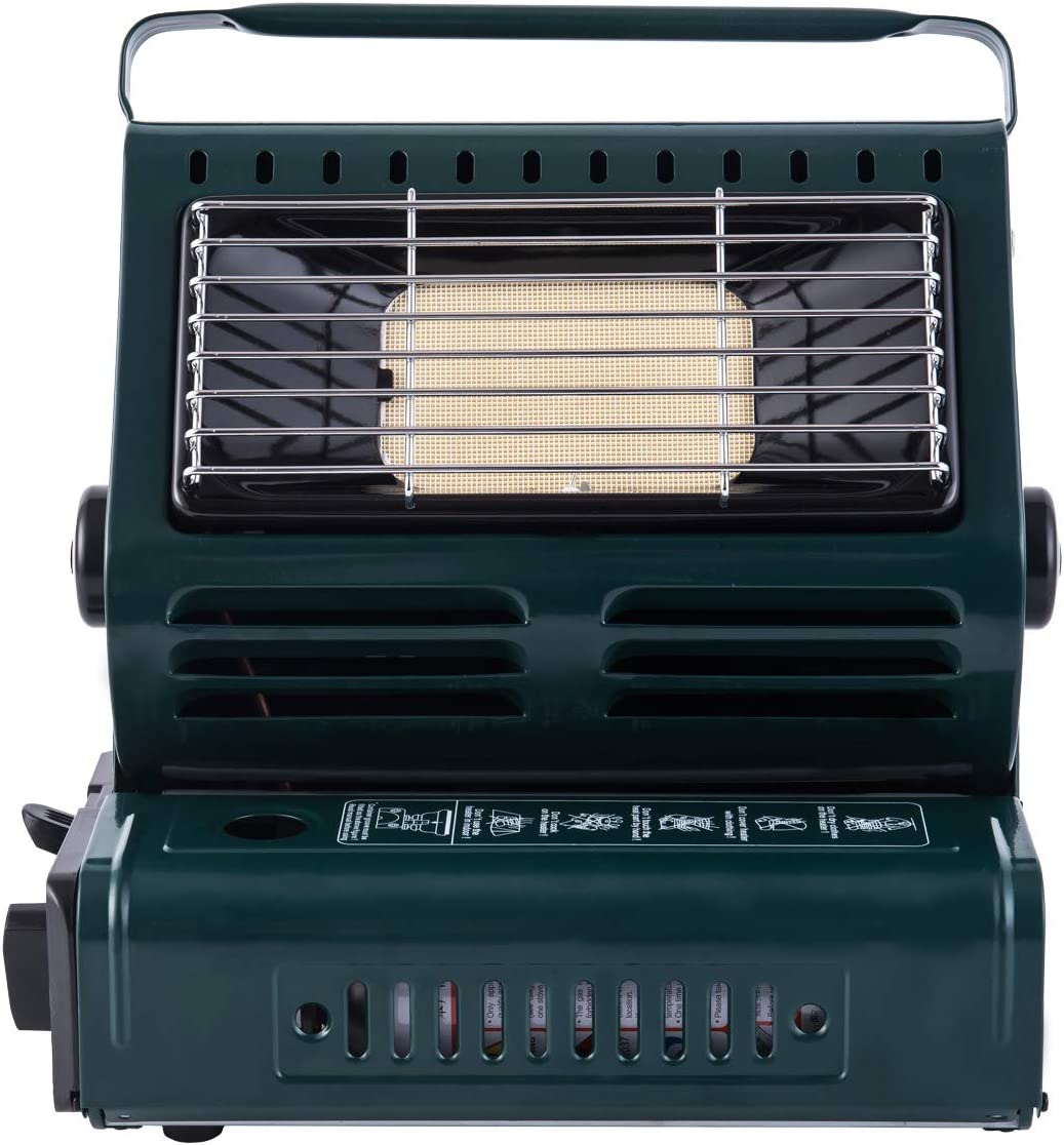 Hotaitai Portable Butane Heater, Personal Gas Space Heater with Convenient Handle, Adjustable, Outdoor Portable Heaters, for Camping, CE Certified