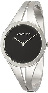 Calvin Klein Reloj Analogico para Mujer de Cuarzo con Correa en Acero Inoxidable K7W2M111