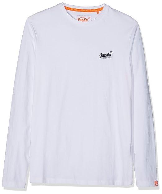 yksityiskohtaiset kuvat ennakkotilaus suositut kaupat Superdry Men's O L Vintage Embroidery L/S Tee Long Sleeve ...
