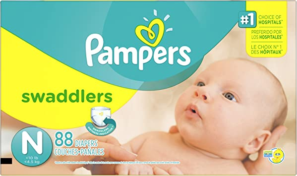 Pampers Pañales swaddlers tamaño Super Pack N 88 Count: Amazon.es ...
