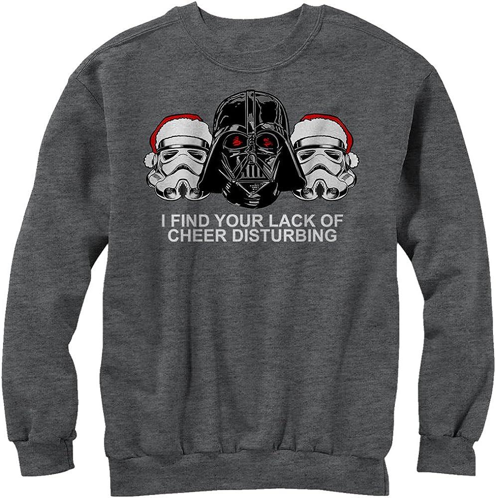 Star Wars Womens Christmas Empire Lack of Cheer Sweatshirt