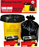 Shalimar Premium Garbage Bags (Small) Size 43 Cm X 51 Cm 6 Rolls (180 Bags)