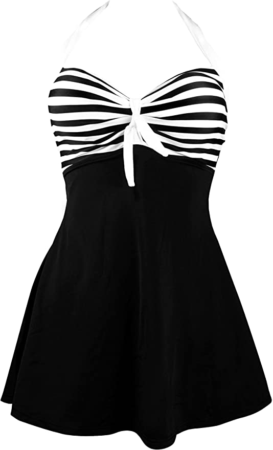 COCOSHIP Vintage Sailor Pin Up Swimsuit