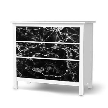 Möbeltattoo Für Ikea Hemnes Kommode 3 Schubladen | Möbel-Folie