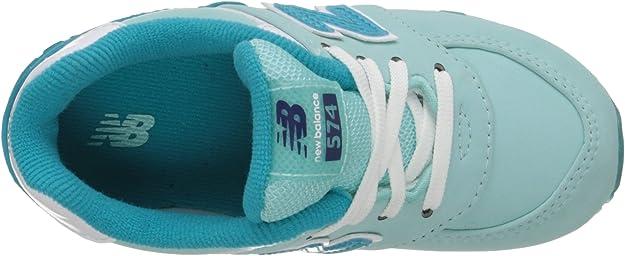 New Balance KL574 Grade Lace Glacial Running Shoe Toddler//Little Kid//Big Kid