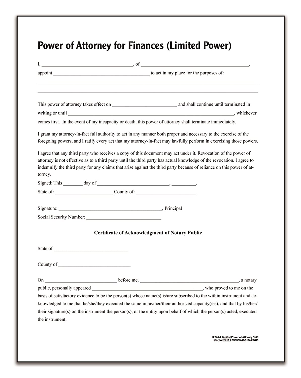 Limited Power Of Attorney | Tradeview Forex