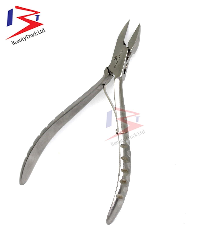 Professionnelles coupe-ongles Clou de la pointe coupante - Podologia pour ongles incarnés - Instruments de qualité faits à la main - 5 BeautyTrack
