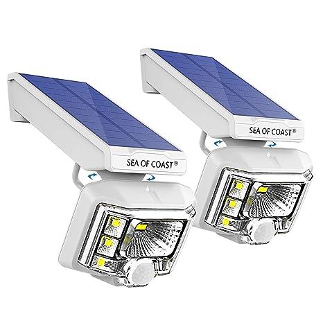 Amazon.com: Luces solares inalámbricas para exteriores ...