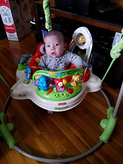 Fisher-Price Rainforest Jumperoo Easy to set up