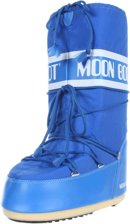 Rot (rot 3) Moon Stiefel Nylon Unisex Schneestiefel
