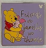 Disney Pin 134125 DLR - Hidden Mickey 2019 - Winnie the Pooh Quotes - Friends Pin