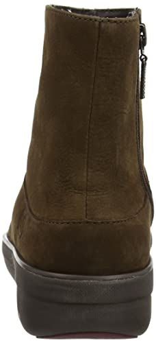 2788368e6 Fitflop Women s Loaff Shorty Zip Nubuck Ankle Boots