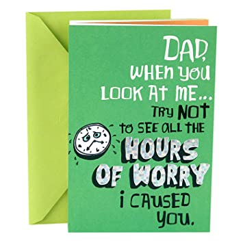 Amazon hallmark funny fathers day greeting card for dad ive hallmark funny fathers day greeting card for dad ive been a character builder m4hsunfo