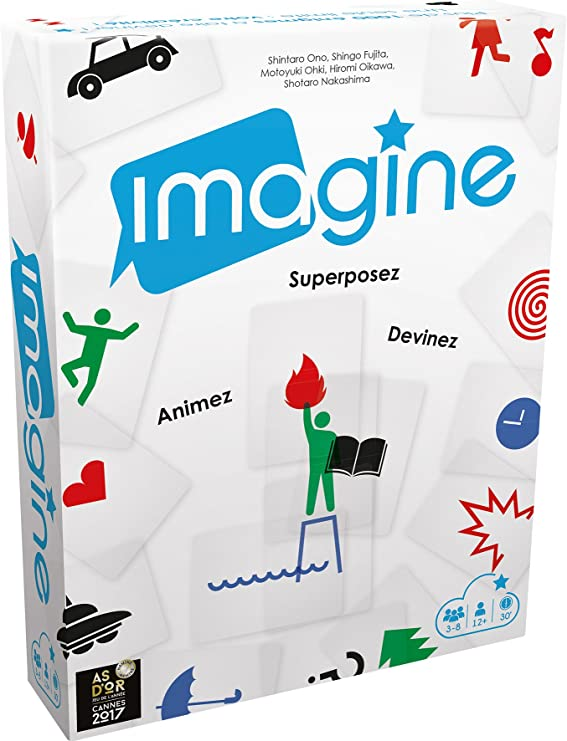 Asmodee-Imagine, CGIMAG02, Multicolor: Amazon.es: Juguetes y juegos