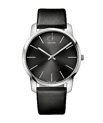 Calvin Klein Reloj Analógico de Cuarzo para Hombre con Correa de Piel - LTP-1234L-7AEF: Amazon.es: Relojes