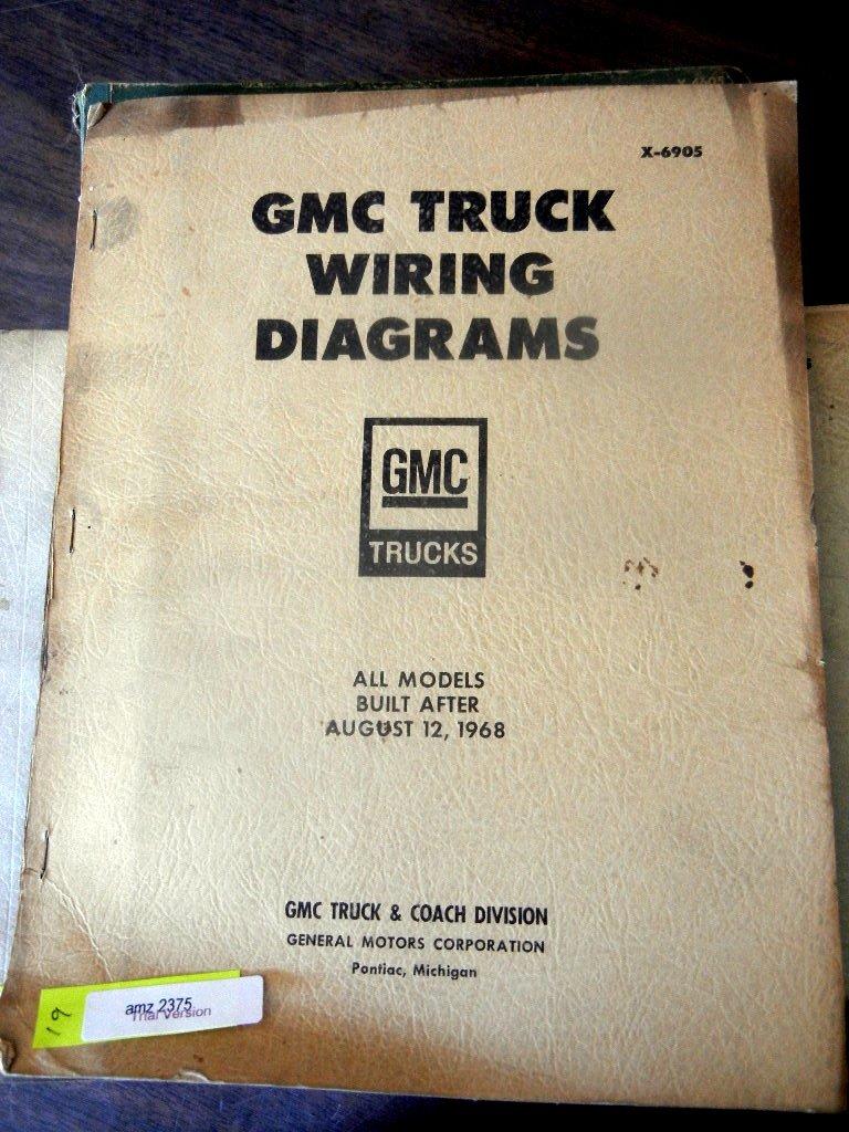 1968 Gmc Truck Wiring Diagram Library Charging Circuit For The 1949 Cadillac All Models 1969 Diagrams Manual General Motors 0739718147416 Amazoncom