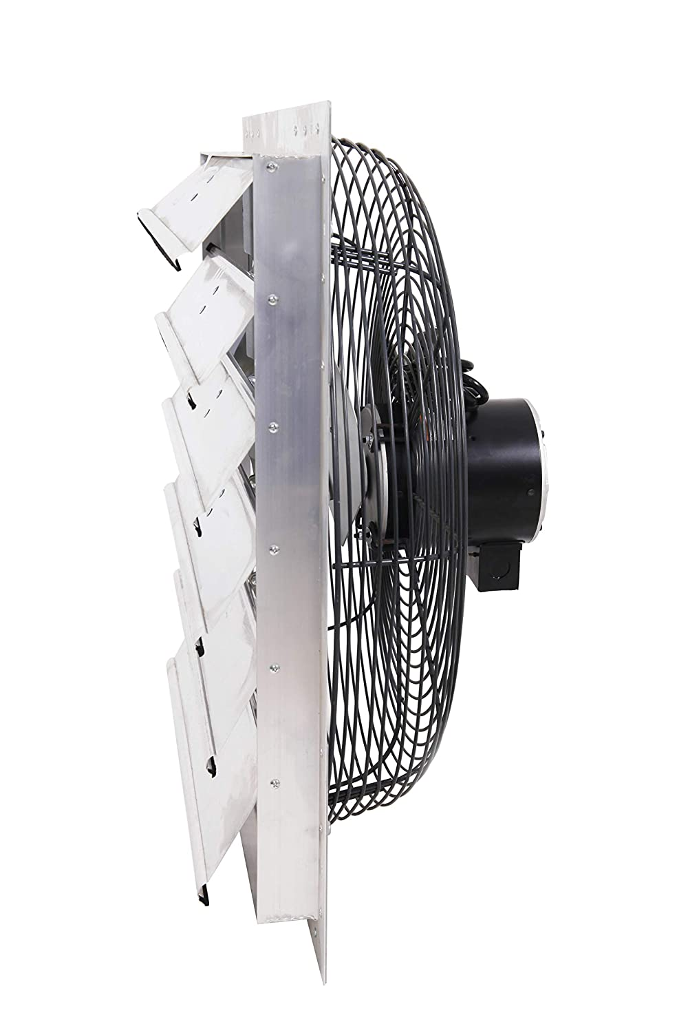 Fanpac S242 Wall-Mounted 2-Speed Shutter Exhaust Fan, 24