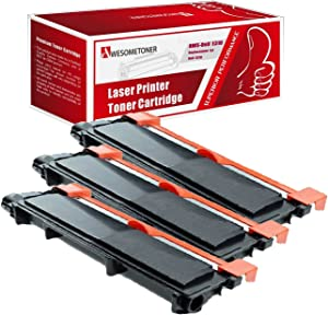 Awesometoner Compatible Toner Cartridge Replacement for Dell E310 (593-BBKD, CVXGF) use with Laser Printer E310dw, E514dw, E515dn, E515dw (Black, 3-pack)