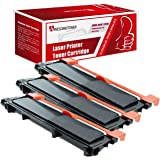 3 Pack Awesometoner® New Compatible Dell E310 E514 E515 Toner Cartridge Replacement for Dell E310dw E514dw E515dw E515dn high yield of 2,600 pages