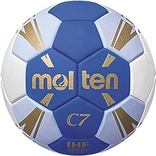 Molten h0C3500de BW C7Taille 0Ballon de handball Bleu/Blanc Enfants Bleu/Blanc/Or, Taille 0