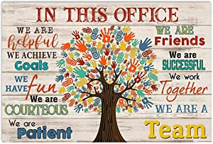 """Robina Fancy Occupational Therapist in This Office We are A Team Poster Gift for Men Women, On Birthday Xmas, Art Print Size 11""""x17"""" 12""""x18"""" 16""""x24"""" 24""""x36"""""""