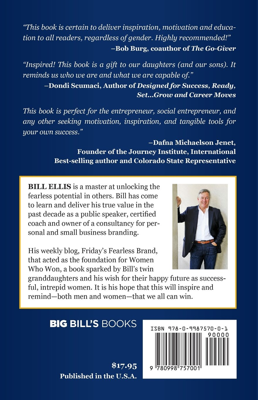 women who won bill ellis 9780998757001 amazon com books