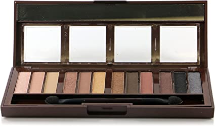 6 Pack) CITY COLOR Barely Exposed Eye Shadow Palette - Day/Night ...