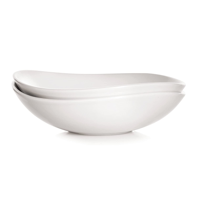 Snow Set of 2 5184691 Savora Chamfer Porcelain Bowl 8-Inch