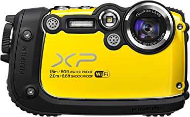 Fujifilm FinePix XP200 16MP Digital Camera with 3-Inch LCD (Yellow) (Discontinued by Manufacturer)