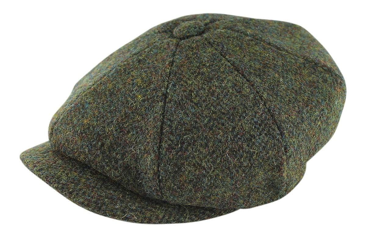 833b75cbd Failsworth Harris Tweed 'Carloway' Baker Boy / Newsboy Cap: Amazon ...
