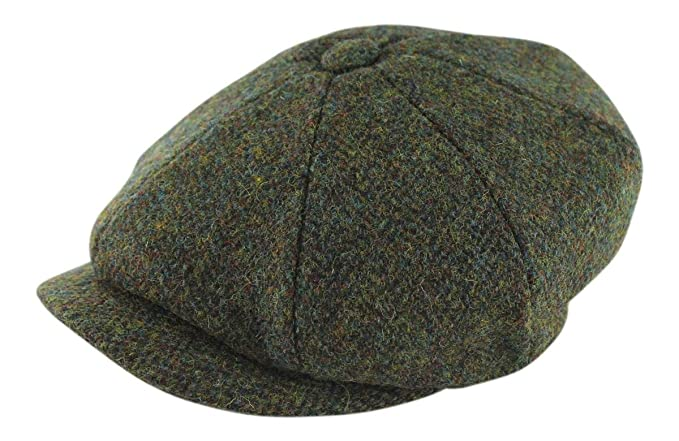 61ec45667 Failsworth Harris Tweed 'Carloway' Baker Boy / Newsboy Cap