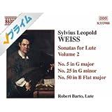 Weiss: Sonatas for Lute, Vol. 2/Robert Barto