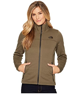 fc373afec12f Image Unavailable. Image not available for. Color  The North Face W Timber  Full Zip Jacket New Taupe Green Heather Womens XL