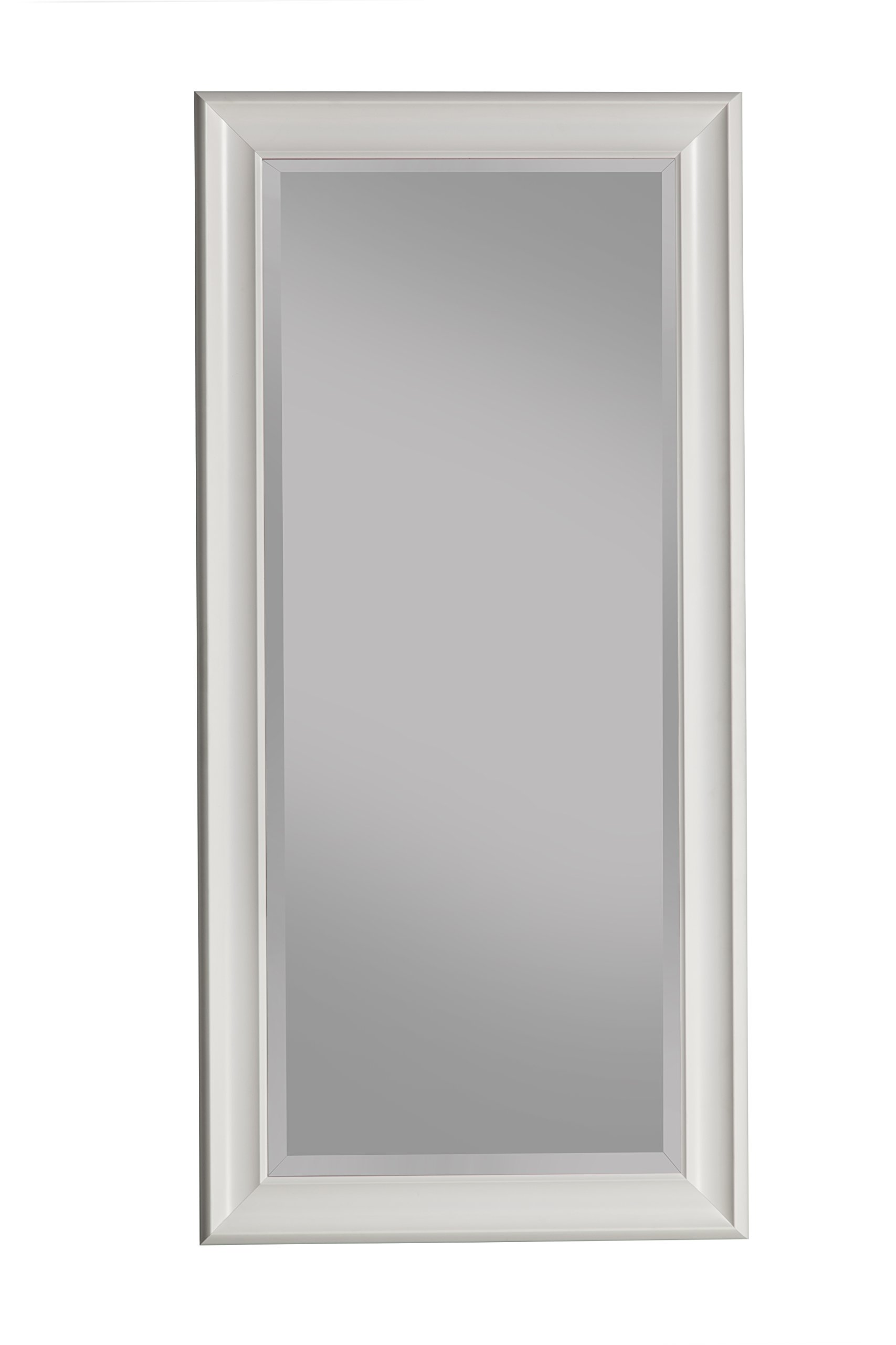 Sandberg Furniture Frost white Full Length Leaner Mirror by Sandberg Furniture
