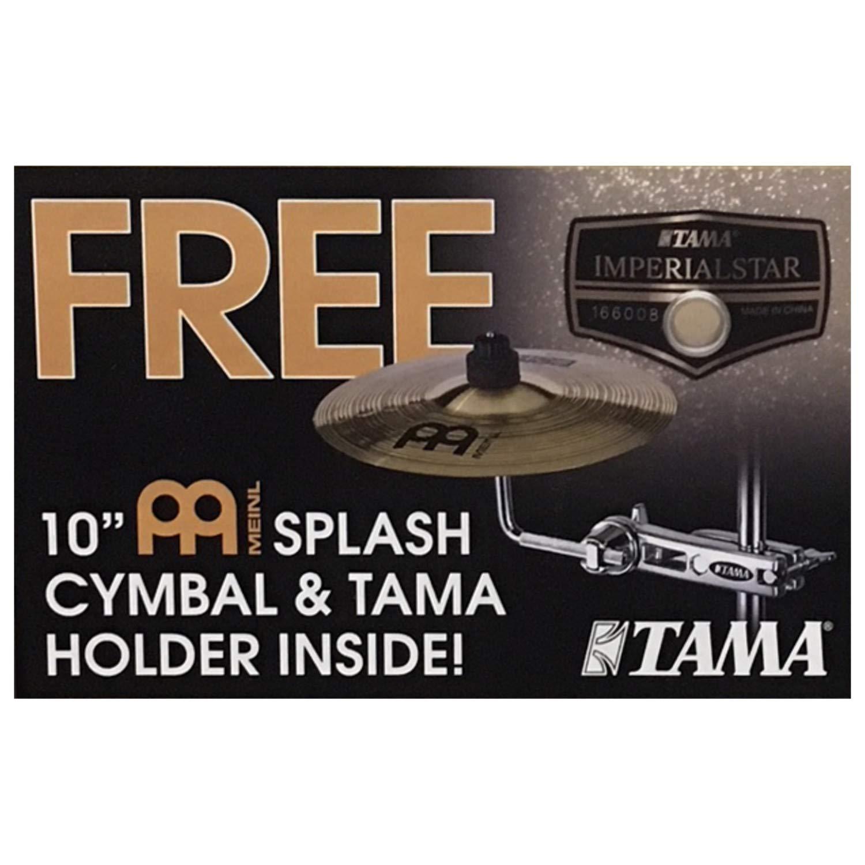 Tama Imperialstar Add-On Meinl 10 Inch Splash Cymbal w/Holder