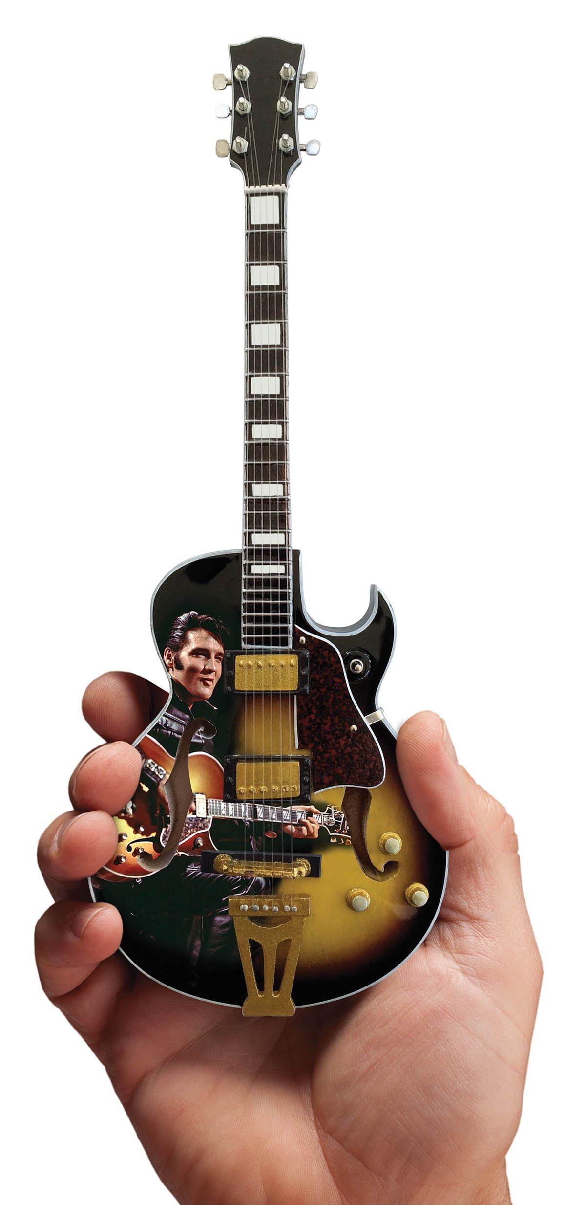 Axe Heaven EP-361 Licensed Elvis Presley '68 Special Hollow Body Mini Guitar Replica