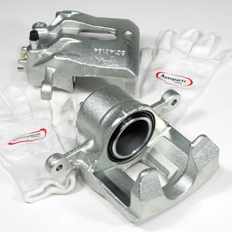 Autoparts-Online Set 60015611 2 Bremss/ättel Bremszange f/ür vorne Links rechts die Vorderachse