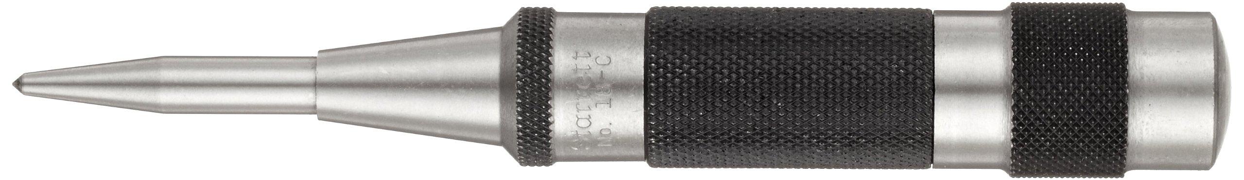 Starrett 18C Automatic Center Punch Heavy-Duty With Adjustable Stroke, 5-1/4'' Length, 11/16'' Diameter by Starrett (Image #1)