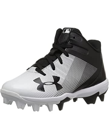 fea6d0ebe20 Under Armour Kids  Leadoff Mid Jr. Rm Baseball Shoe